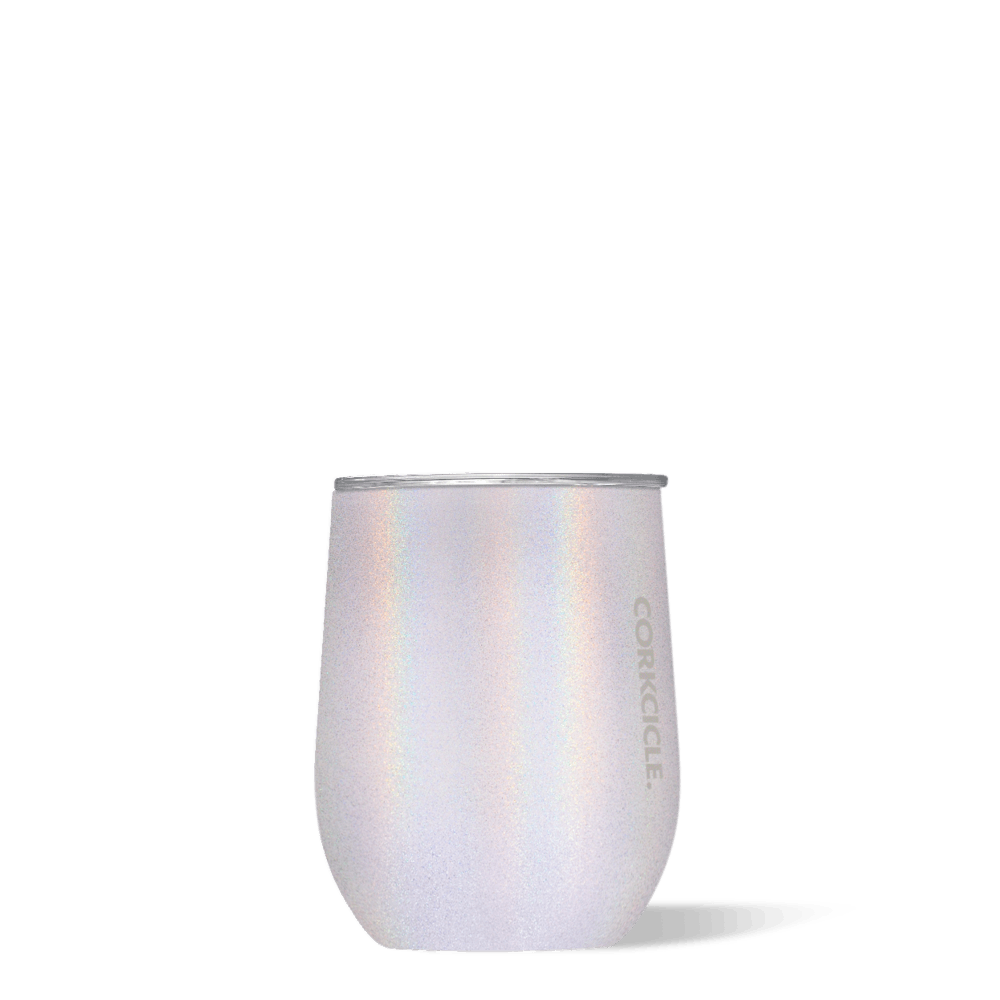 """818516d2b8b7 Corkcicle's """"Unicorn Magic"""" Line Is Full Of Sparkly, Stemless Wine Glasses  That Will Keep Your Rosé Cold For 9 Hours"""