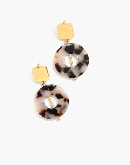 Linked Shapes Statement Earrings