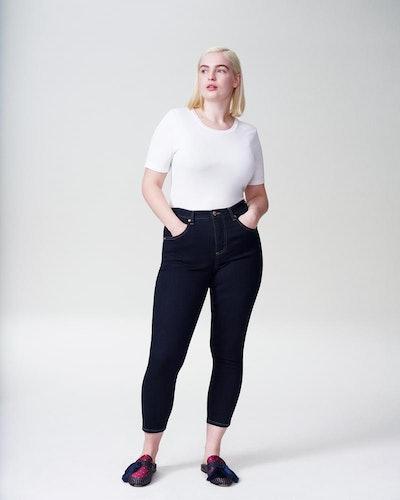 Seine High-Rise Skinny Jeans 27 Inch In Dark Indigo
