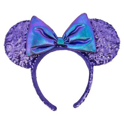 Minnie Mouse Potion Purple Ear Headband