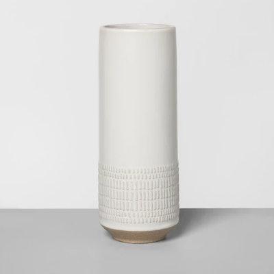 Textured Vase Cream - Hearth & Hand with Magnolia