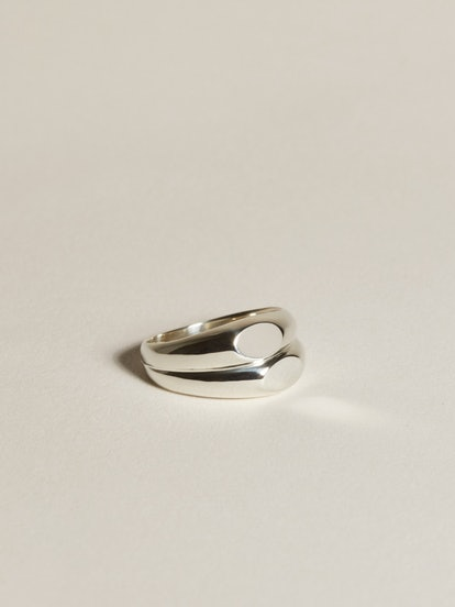 Duo Face Signet, Silver
