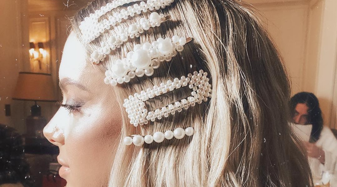 Image result for hairstyle ideas with barrette pins