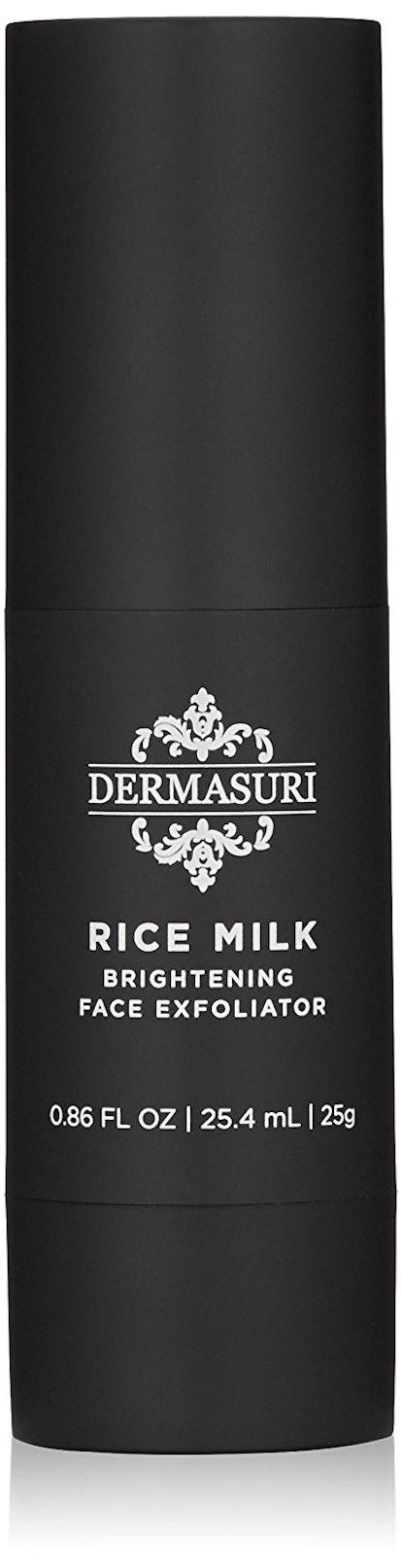 Dermasuri Rice Milk Brightening Face Exfoliator