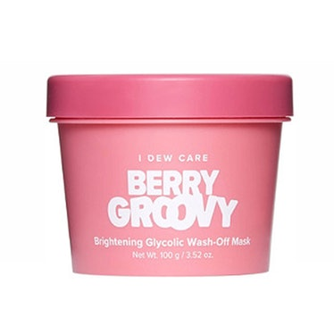 Memebox I Dew Care Berry Groovy Brightening Glycolic Wash-Off Mask