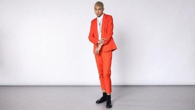 The Empower Red Tux Blazer