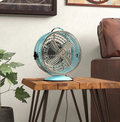 """Williston Forge Becky Breeze 8"""" Oscillating Table Fan"""