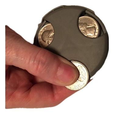 COIN MATE Pocket Change Organizer