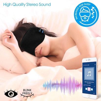 TOPOINT Bluetooth Sleep Eye Mask