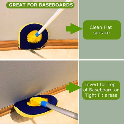 Chomp 5 Minute Clean Wall And Ceiling Dust Mop