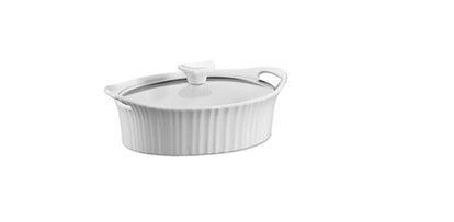 CorningWare® French White® 1.5 qt. Ceramic Oval Casserole