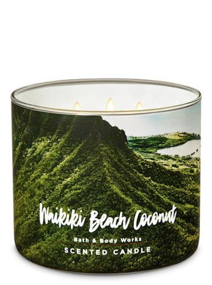 WAIKIKI BEACH COCONUT 3-Wick Candle