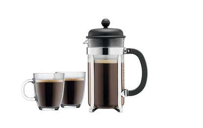Bodum Brazil 8 Cup French Press Coffee For Two Set