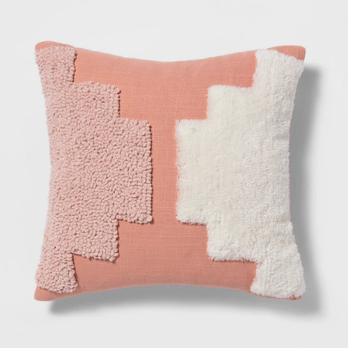 Tufted Square Throw Pillow