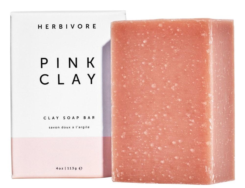Herbivore Pink Clay Soap Bar