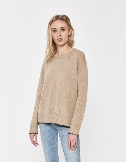 Linette Contrast Trim Sweater