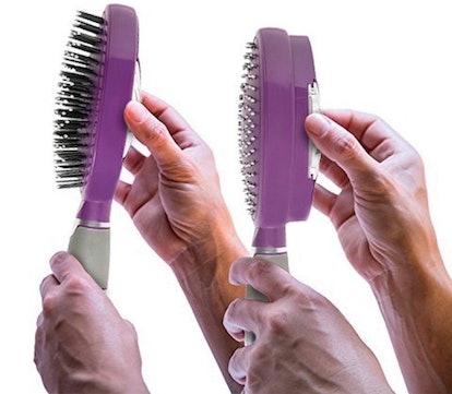 Qwik Clean Self-Cleaning Hair Brush