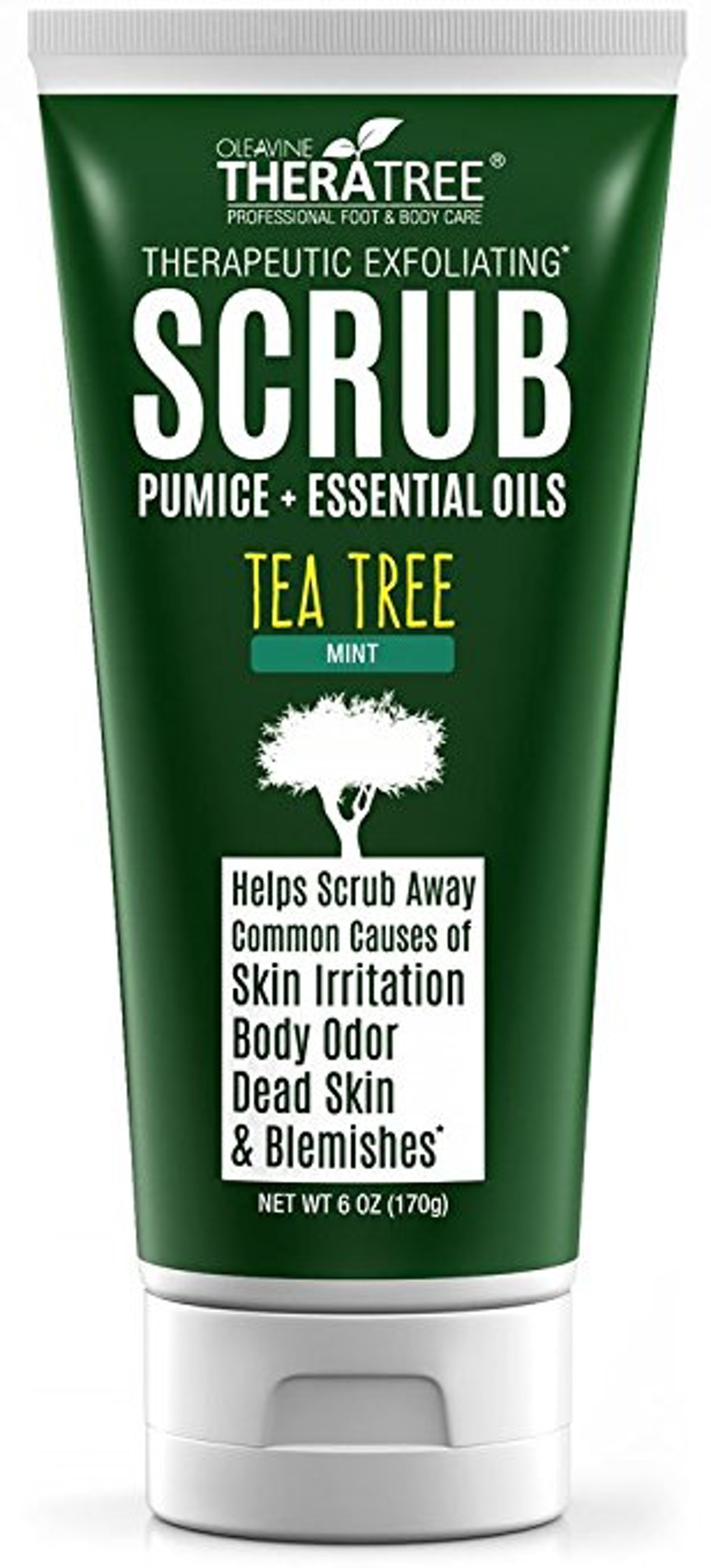Tea Tree Oil Exfoliating Scrub