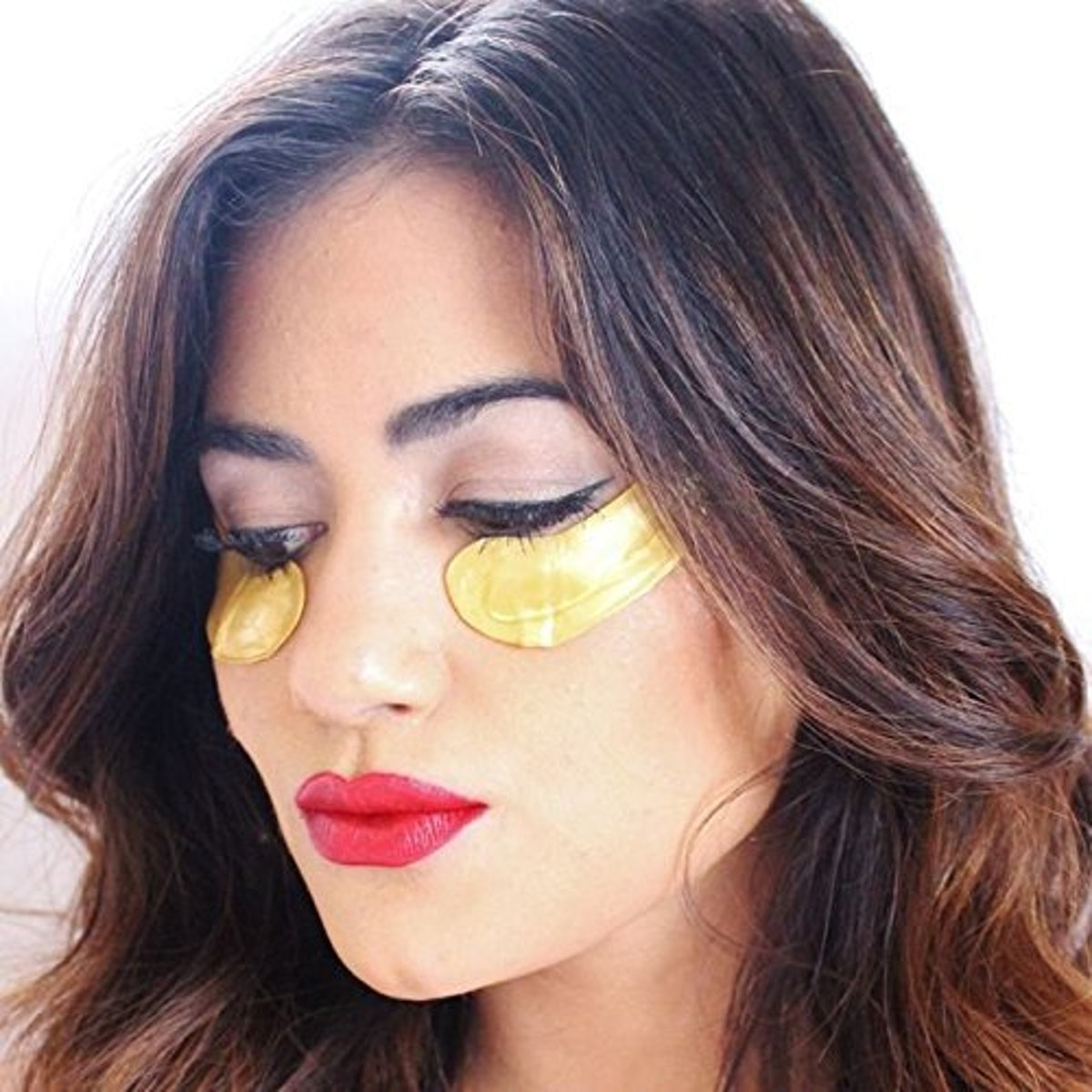 Grace & Stella DePuffing + Energizing Golden Powder Gel Collagen Under Eye Masks