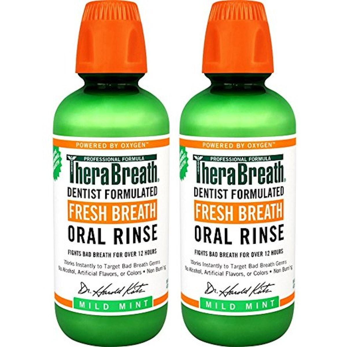 TheraBreath Fresh Breath Dentist Formulated Oral Rinse