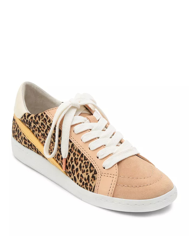 Dolce Vita Women's Nino Animal Print Low Top Sneakers