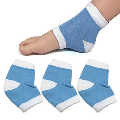 ZenToes Moisturizing Heel Socks with Gel