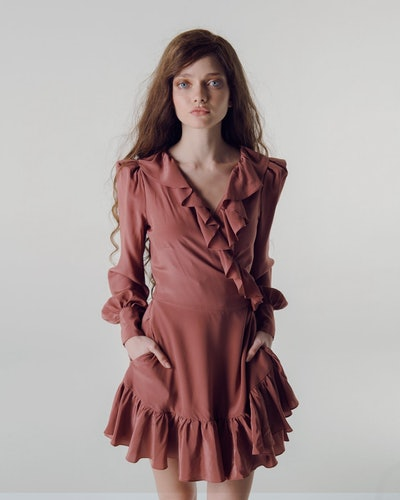 The Wrap Dress, Coconut
