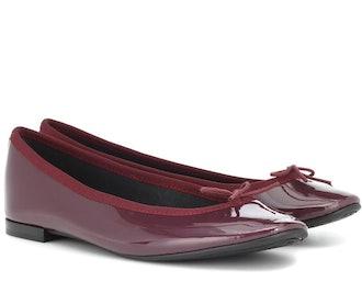 Lili Patent Leather Ballet Flats