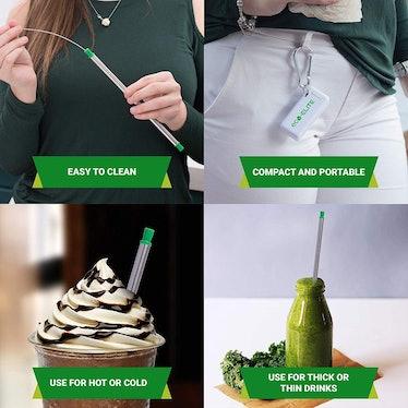 Eco-Elite Foldable Reusable Straw