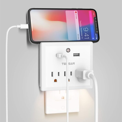 TESSAN USB Multi Outlet