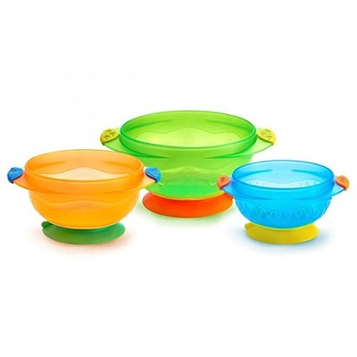 Munchkin Stay Put Suction Bowl