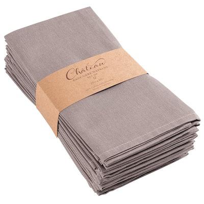 KAF Home Chateau Easy-Care Cloth Dinner Napkins