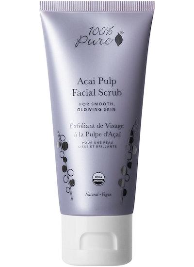 100% Pure Acai Pulp Facial Scrub