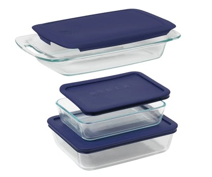 Pyrex 6pc Bake N' Storage Value Pack