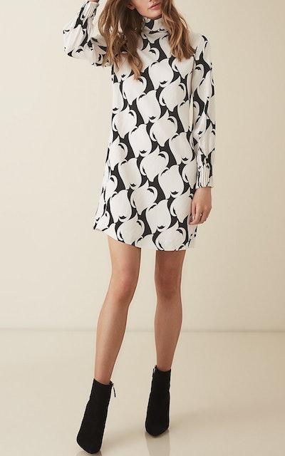 Azzura Swirl Printed Shift Dress