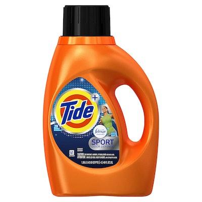 Tide Plus Febreze Sport Laundry Detergent, 46 Fl. Oz