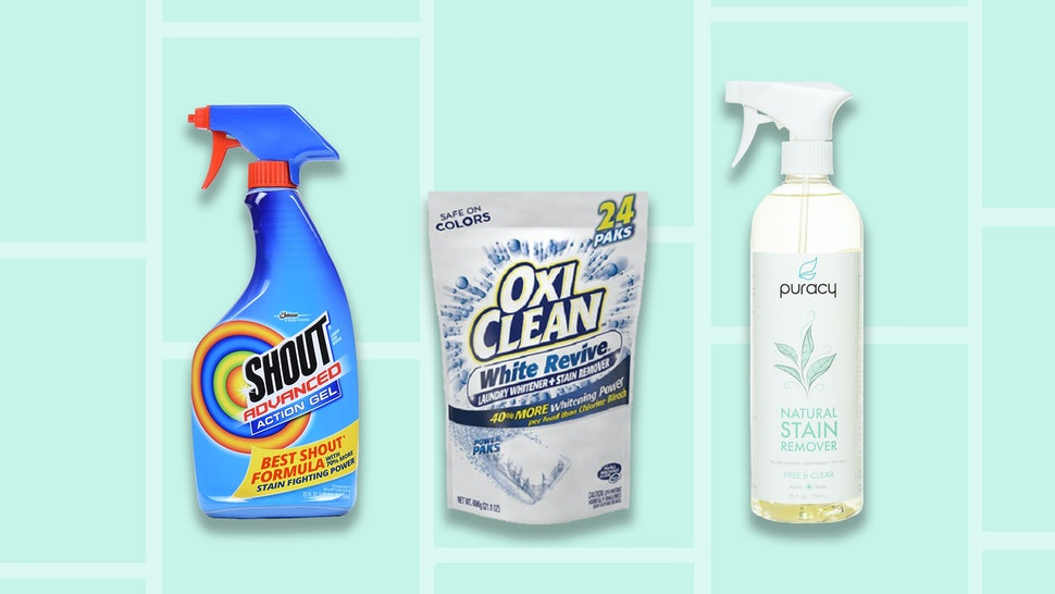 The 5 Best Stain Removers For Clothes