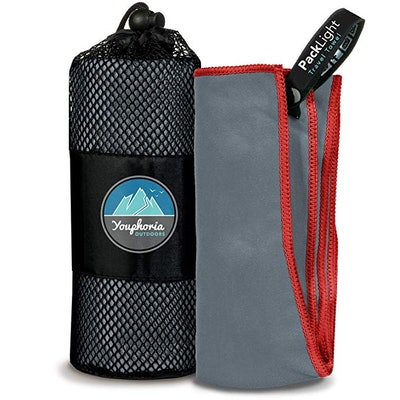 Youphoria Outdoors Microfiber Quick Dry Travel Towel