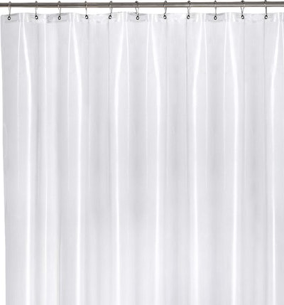 Utopia Bedding 10 Guage Heavy Duty Clear Shower Curtain Liner