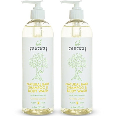 Puracy Natural Baby Shampoo & Baby Wash