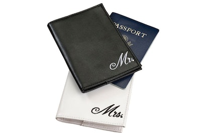 Mr. and Mrs. Passport Covers 2-Piece Set