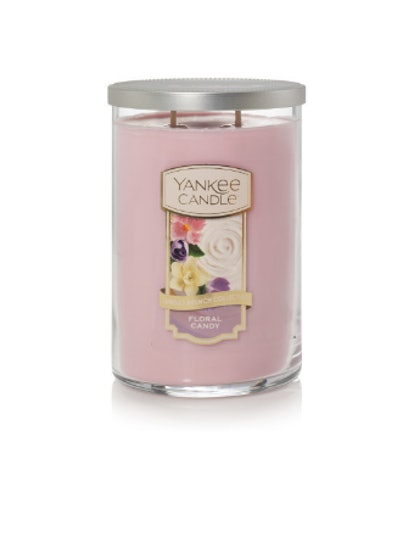 Floral Candy Large 2-Wick Tumbler Candles