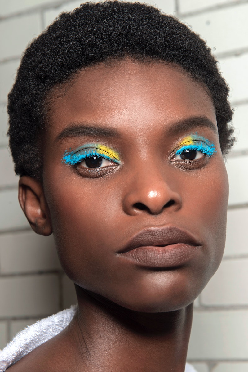 10 Bright Eye Makeup Products For Dark Skin That Actually Show Up Stay On These tips will make your beautiful gold is one of the most flattering colors for darker skin tones, which is why arlenis sosa looks so to get lala anthony's natural flushed look, use a cream blush like makeup forever cream blush in coral. 10 bright eye makeup products for dark
