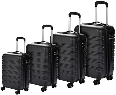 Murtisol 4 Pieces Expandable ABS Luggage Sets