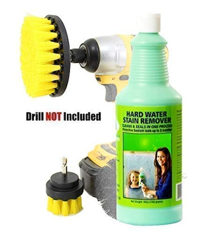 Bio-Clean Hard Water Stain Remover and Brush Kit