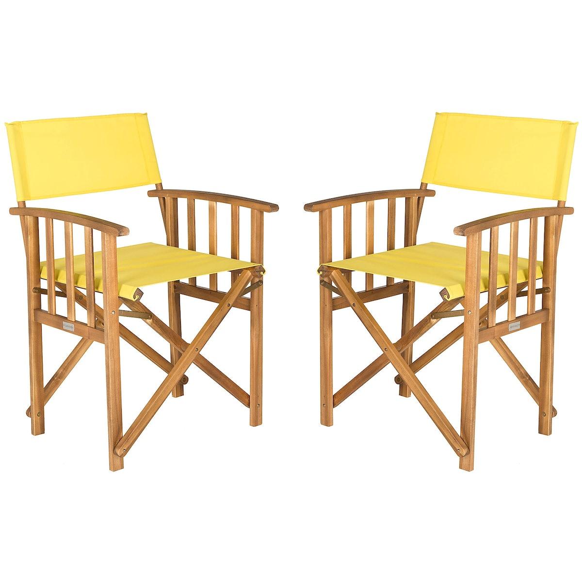 Safavieh Laguna Outdoor Director Chairs
