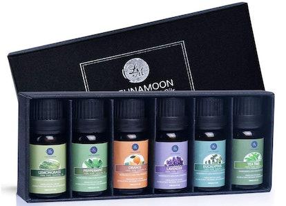 Lagunamoon Essential Oils, Set Of 6