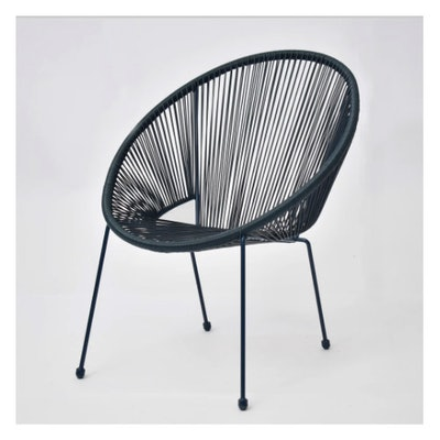 Fisher Stack Patio Egg Chair Blue - Project 62