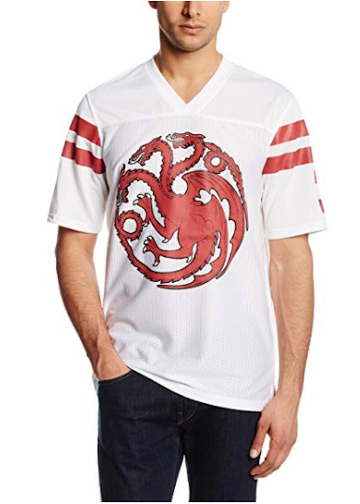 Men's Got Targaryen Football Jersey T-Shirt