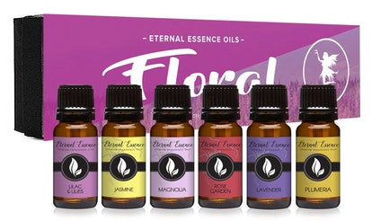 Eternal Essence Oils, Floral, Set Of 6